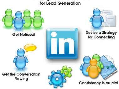 Lead Generation through LinkedIn