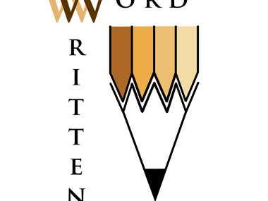 Logo Design for Written Word writing services