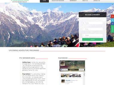Tours & Travels website