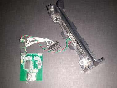 Magnectic analog reader