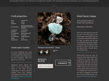 Jewellery Ecommerce Site
