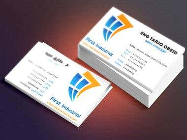 First  Industrial  Business Card