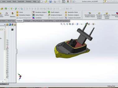 Surface Seeker _ Autonoumous  Surface vehicle