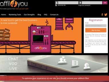 Mobile affiliation platform