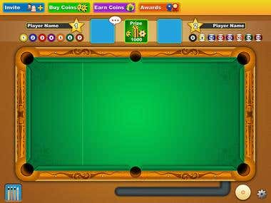 Pool Game Design