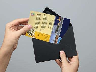SAAB Re Union Greeting Cards Design