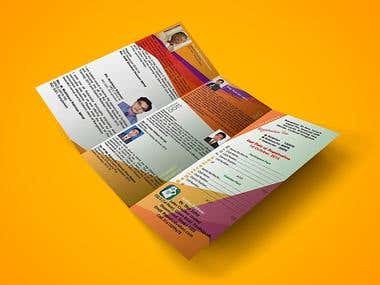 Trifold Brochure Template with Flyer