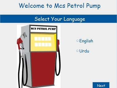 Unattended Petrol Pump using Java and MVC
