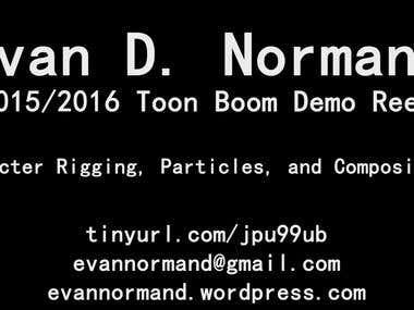 Toon Boom / Harmony Demo Reel for 2015/2016