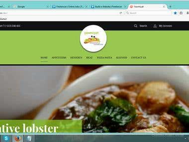 Yawmiyat food Recipe Online Store (Magento)