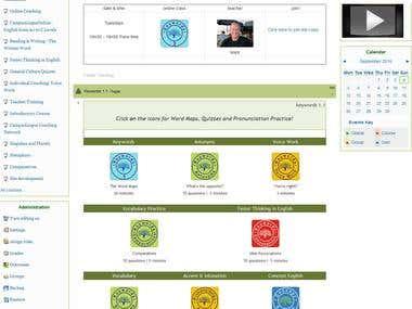 English Language Lab Learning Management System