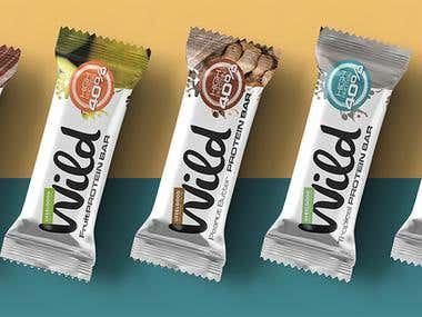 Wild Protein Bar Package
