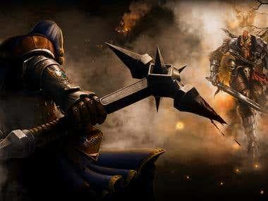 Illustration for MMORPG