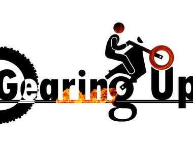 Gearing Up Logo Design