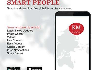 Kashmir Monitor | Android & iOS Application
