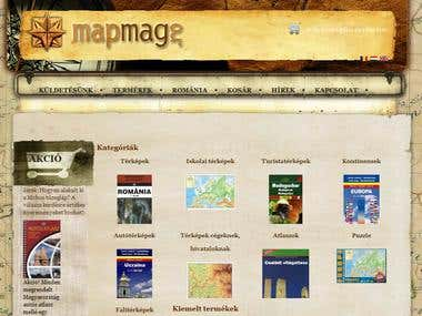 MapMag - a multilingual Virtuemart/Joomla site