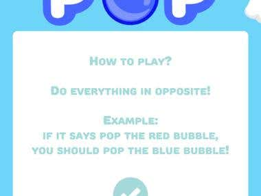 Pop Pop - A tricky tap game! for iOS and Android