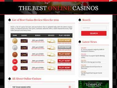 Top 5 Casinos