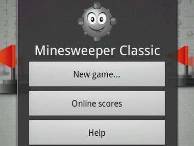 Classic Minesweeper game for your Android