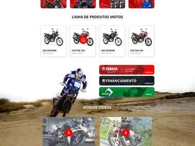 Motorcycles Website