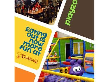 Flyer for Kids Playzone 2