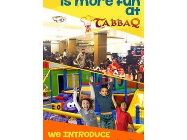 Flyer for Kids Playzone