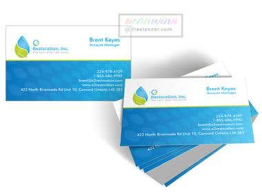 Cool & Modern Business Card