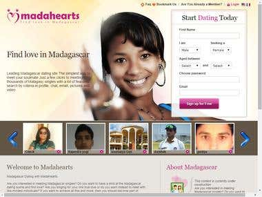 MadaHearts- Online Dating Platform