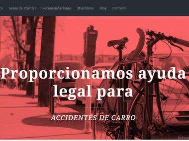 Hispano Web Application(Wordpress)