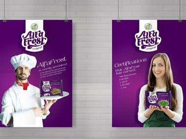 Alfa Frost - Exhibition Stand