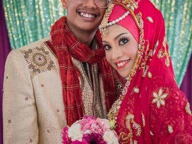 Wedding Of Huzzaidi & Syuhadah