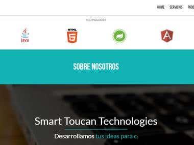Sitio web Smart Toucan