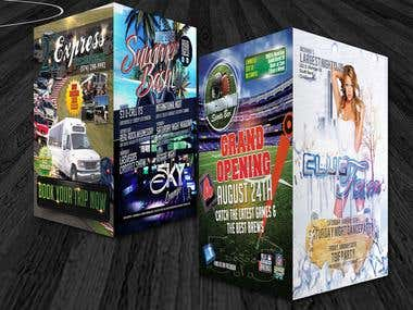 Graphic Design - Business Cards, Flyers & Brochures