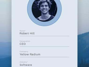 App Design for Sarcon