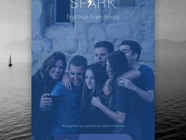 App Design for Spark Social