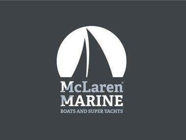 McLaren Marine, logo