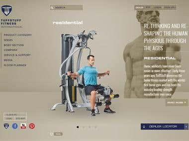 Online Fitness Portal