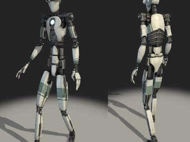 robot game model