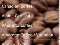 List of Coffee