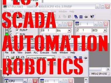 PLC , SCADA , AUTOMATION, ROBOTICS