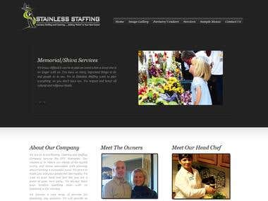 WordPress Theme design and Development for Stainless Staffin