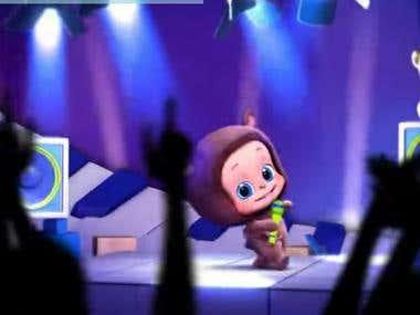 Cartoon Music Video - Baby Vuvu aka Cutest Baby Song