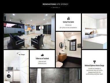 Renovations Website