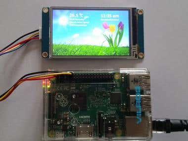 Rasberry Pi Weather Station