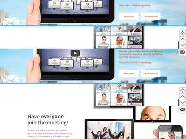 Online booking portal for Corporate meetings