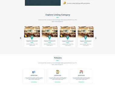 landing page design for paipoint
