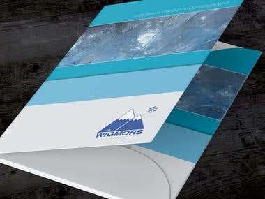 Company folder design