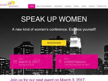 SPEAK UP WOMEN