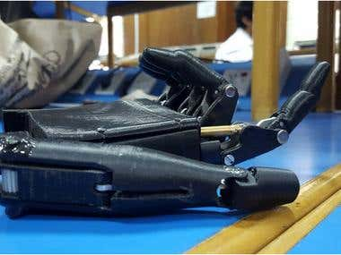 BCI controlled Prosthesis