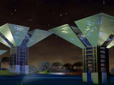 siliguri gate 3d model